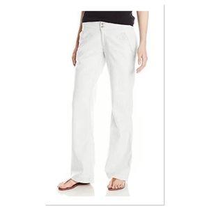 Royal Robbins Cream Linen Pants